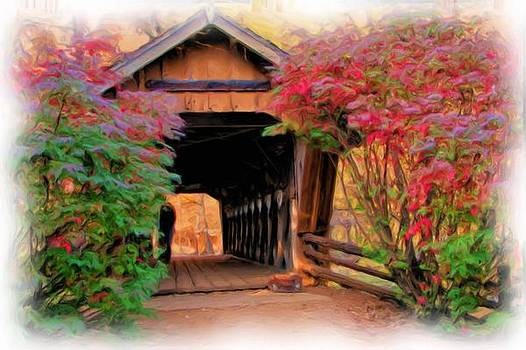 Walking Through A Covered Bridge by Victoria Sheldon