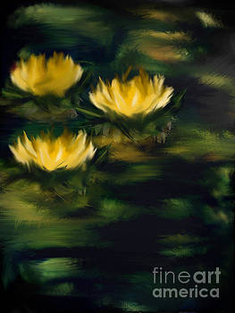 Water Lilies by Betsey Walker Culliton