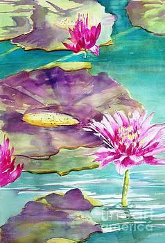 Water  Lilies II by Maryann Schigur
