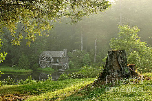 Watermill at Sunrise by Matt Tilghman