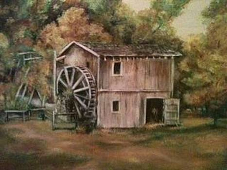 Watermill Outside Hardy in Arkansas by Joseph Baker