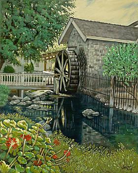 Waterwheel  by Lorna Saiki