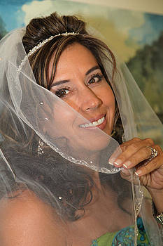 Wedding Portrait of Ana by Nelly Marziale