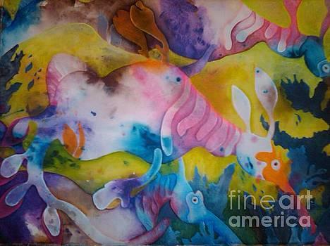 Weedy Sea Dragons by Crystal N Puckett