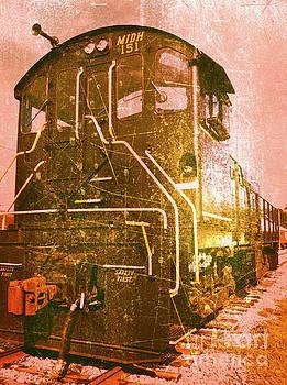 Western Railroad in Middletown Pennsylvania by Kevyn Bashore