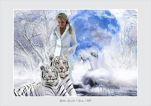 White Queen by Zoldes Hampel Sandor