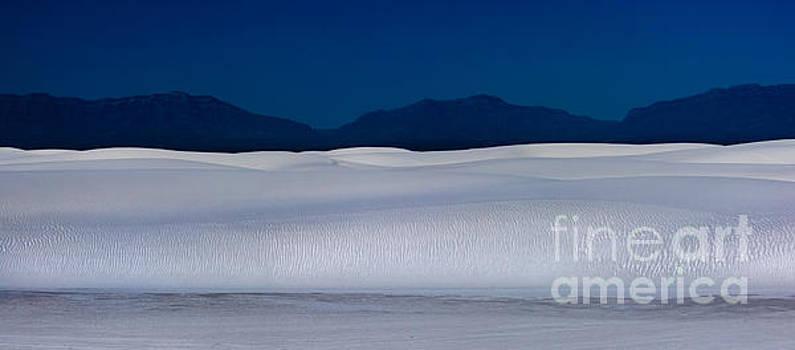 White Sands Dune at Night by Matt Tilghman