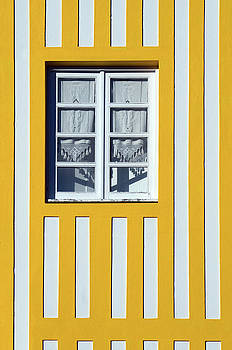Window on Yellow Stripes by Dias Dos Reis