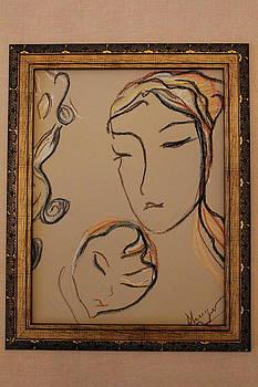 Women With Child by Nataliya Yutanova
