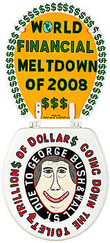 World Financial Meltdown by MaryAnn Kikerpill