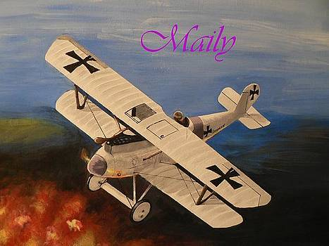 WWI Aplane by Maily