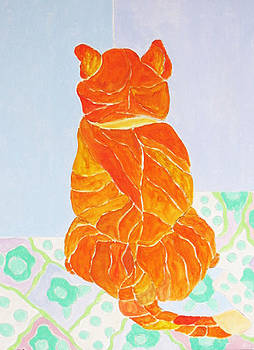 Yellow Cat by Martin Silverstein