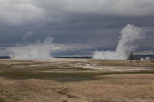 Yellowstone Geysers2 by Charles Warren