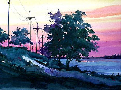 Evening Coast by Art Scholz