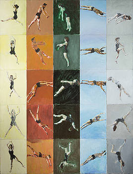 Acrobats Spinning in Space by Nicholas Stedman