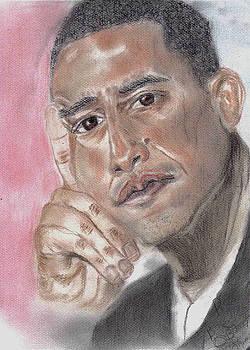 Barack Obama by Thomasina Marks