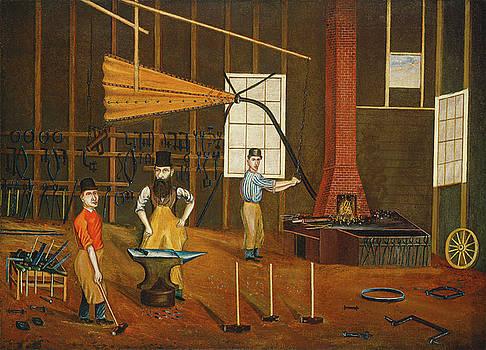 Francis A Beckett -  Blacksmith Shop