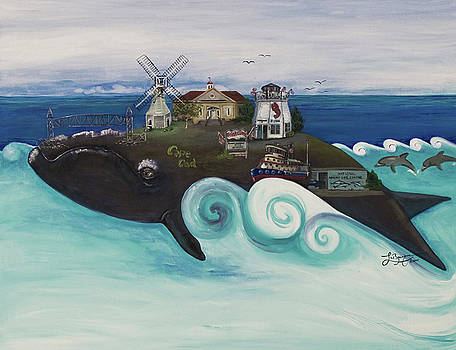 Bourne-A Whale of a Town  by Theresa LaBrecque