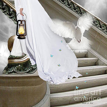 Bride entering His Chambers by Brenda Rich