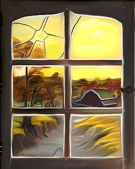 Claude Beaulac -  Broken Window Dreamy Mirage