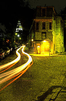 Car in Downtown Annapolis by Paul Pobiak