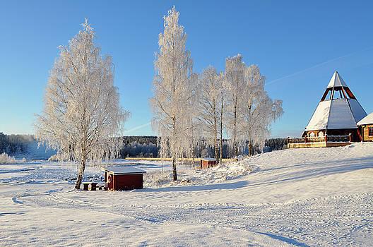 Chirch, In Sweden, Scandinavia by Tamara Sushko