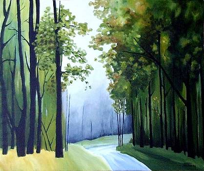 Country Road by Carola Ann-Margret Forsberg