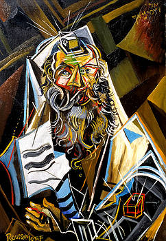Ari Roussimoff -  Cubist Rabbi