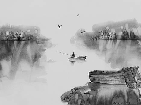 Fishing by Khromykh Natalia