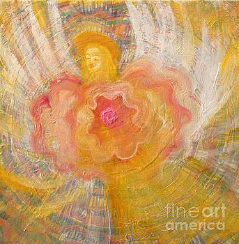 Flower Angel by Anne Cameron Cutri