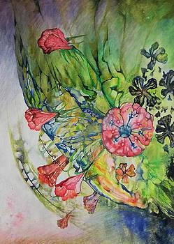 Flower rain by Alexander Dudchin