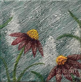 Flowers in the Breeze by Emily Young