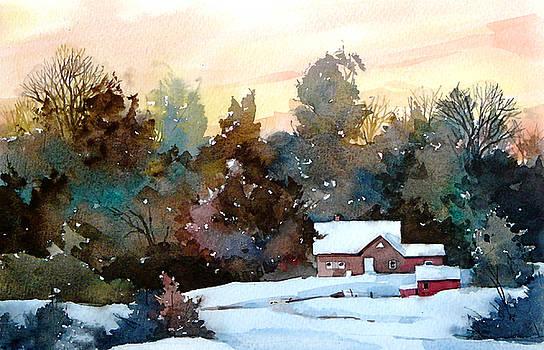 Frosty Sunset by Art Scholz
