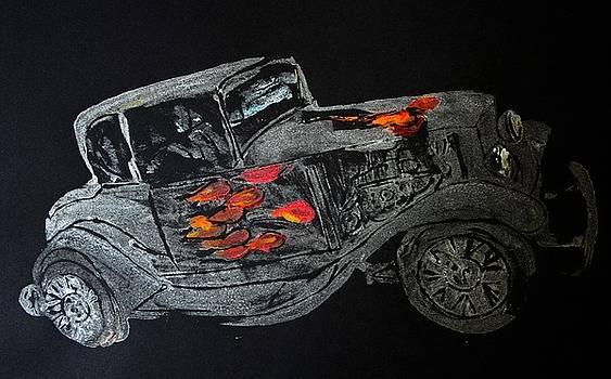 Ghost On Fire by Ana Bikic