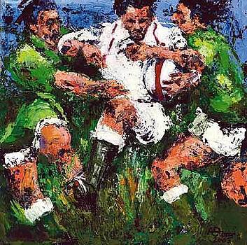 Grand Slam 2003 Rugby Prints by Rugby Art  Prints medium print