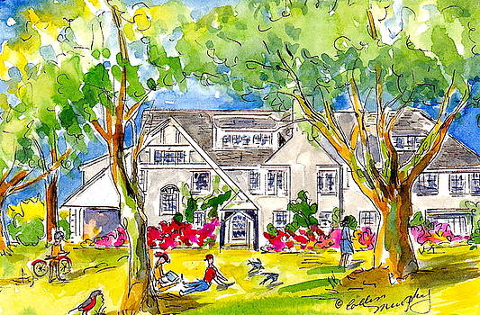 Ida Mann Dormitory, Reed College by Collin Murphy