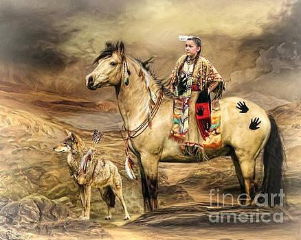 Indian Spirit by Trudi Simmonds