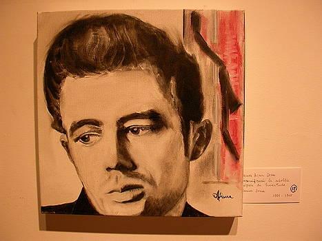 James Dean by Maria  Da Assuncao Lima