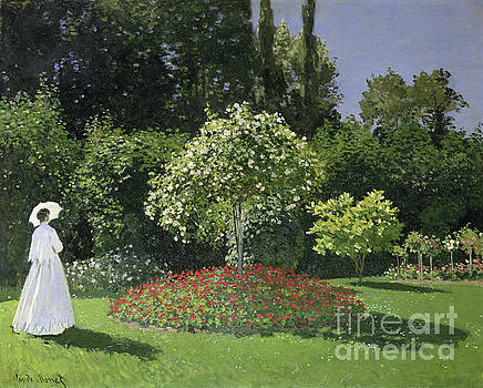 Celestial Images -  JEANNE MARIE LECADRE IN THE GARDEN