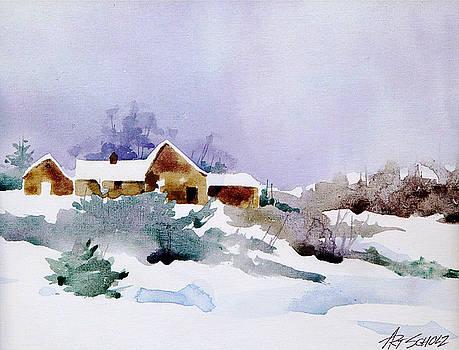 Lavender Breeze by Art Scholz