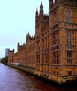 London Parliament by Deborah Yeager