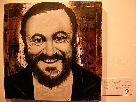Lucciano Pavarotti by Maria Da Assuncao Lima