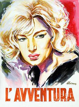 Michelangelo Antonioni L Avventura 1960 by Spiros Soutsos
