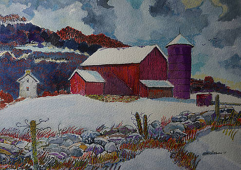 Minnesota Farm by Donald McGibbon