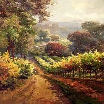 Napa Vineyard Way by Lombardi