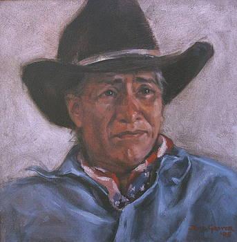Navajo Cowboy by Jane Grover