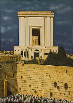 Old Jerusalem. The Third Themple. by Eduard Gurevich