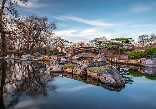 @ Osaka Garden by Zouhair Lhaloui