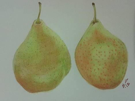 Pair of Pears by Ekta Gupta