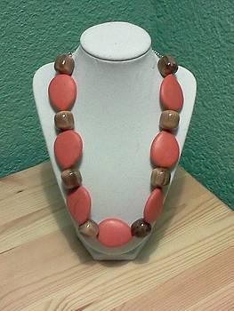 Pele Necklace by Kendell Tubbs